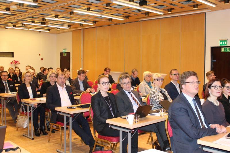 Delegationens möte i Kalastajatorppa Helsingfors.