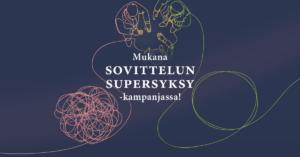 Sovittelun supersyksy -kampanjan olen mukana linkedin-kuva
